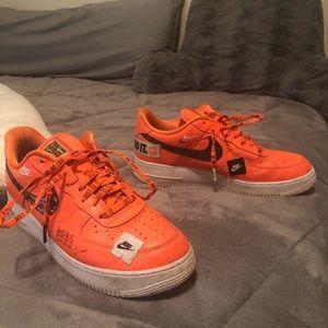 Total Orange Nike JDI Air Force 1